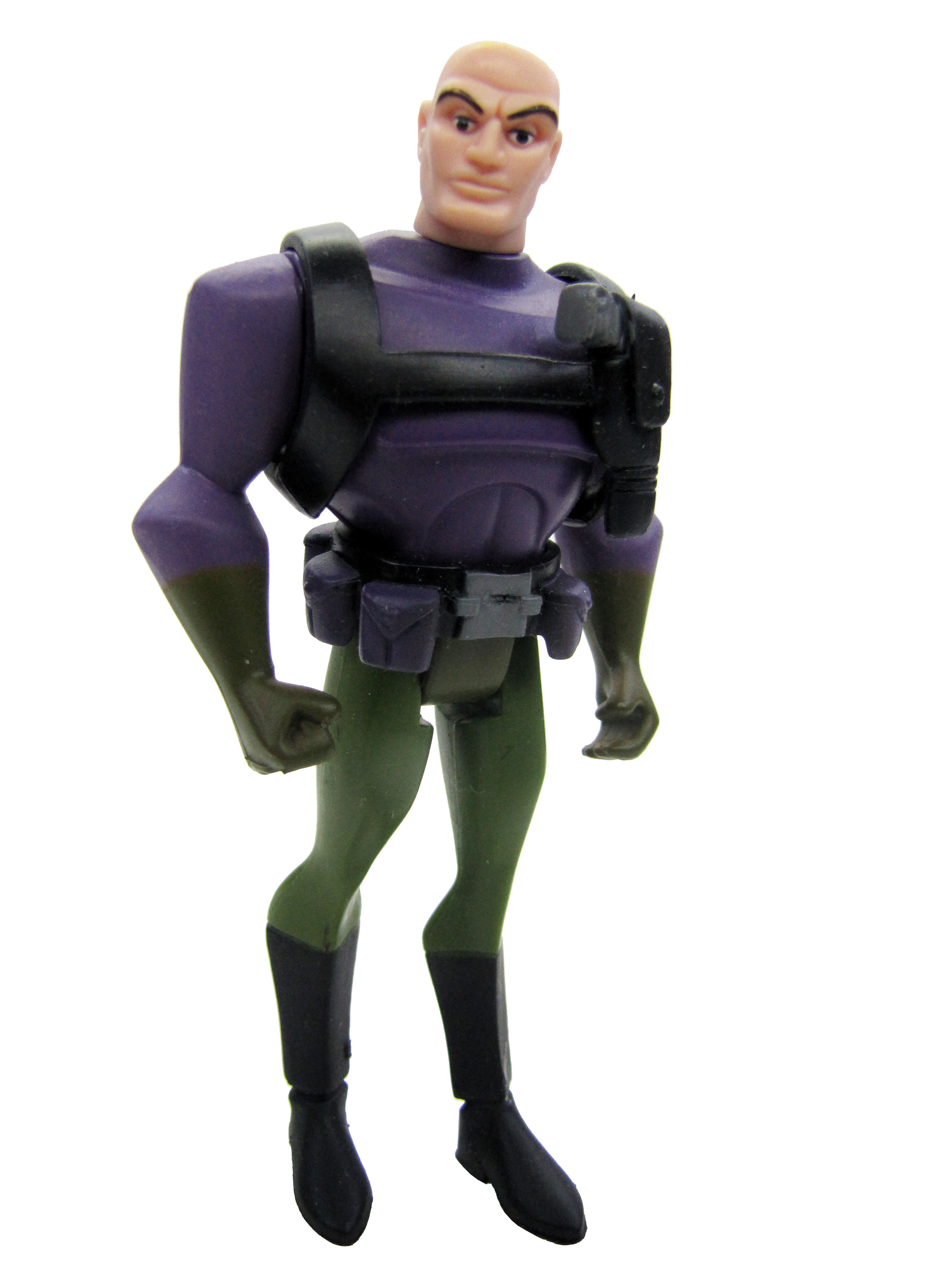 Justice League Unlimited Lex Luthor Purple Suit Complete